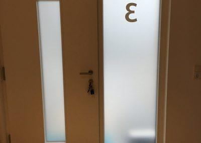 GD Eingangstür mit Hausnummer