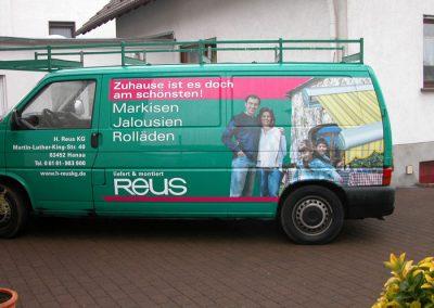 VW Bus mit Teilfolierung