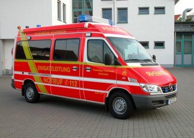 Vollverklebung Feuerwehr
