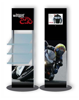 AcryPix Bundle Motorrad Weiges