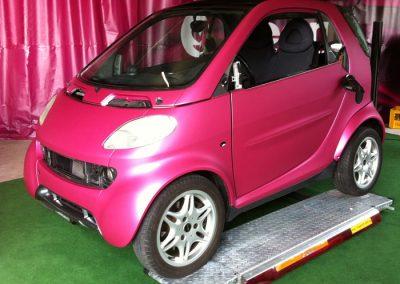 Smart Fahrzeugvollfolierung