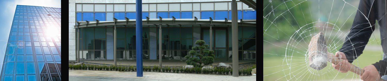 Gebäudeschutzfolien Sonnenschutzfolien